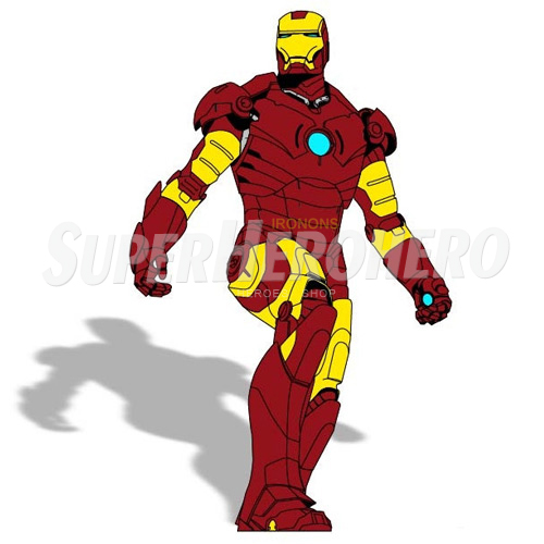 Designs Iron Man Iron on Transfers (Wall & Car Stickers) No.4590